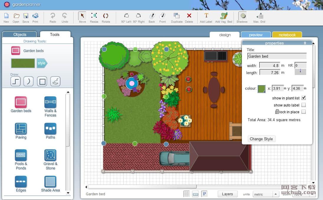 Artifact Interactive Garden Planner 3.6.36 园林设计应用