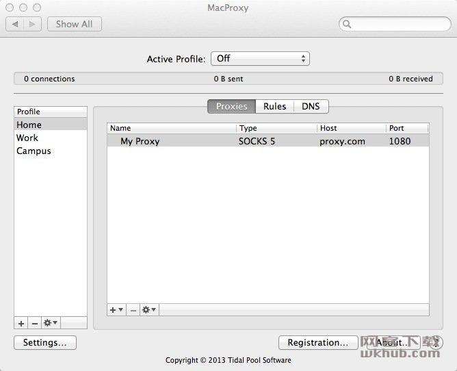 MacProxy 3.0.10 提供系统范围的网络代理支持