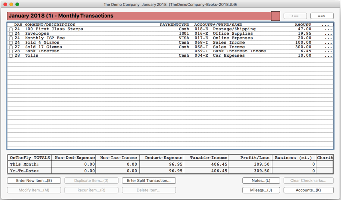 TinyBooks Pro 10.0.1 专业财务记账管理软件
