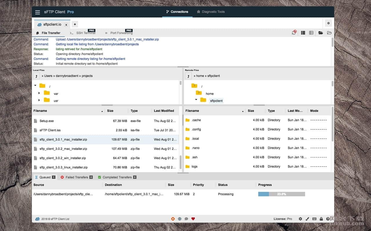 sFTP Client Pro 3.1.3 优秀的sFTP客户端