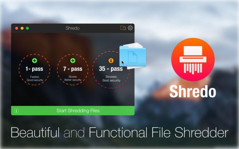 Shredo 1.2.6 强大的文件粉碎工具