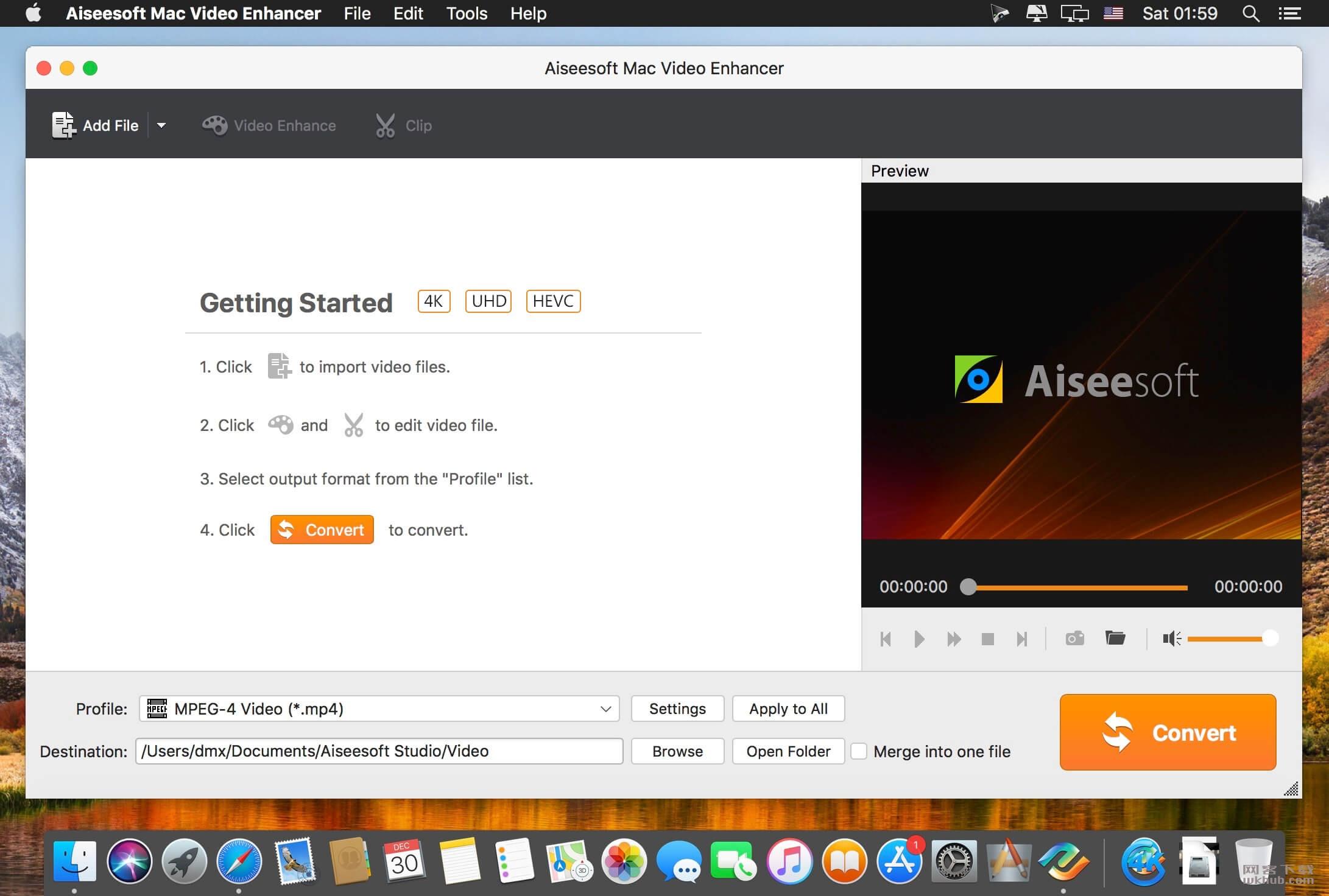 Aiseesoft Mac Video Enhancer 9.2.16 视频增强工具