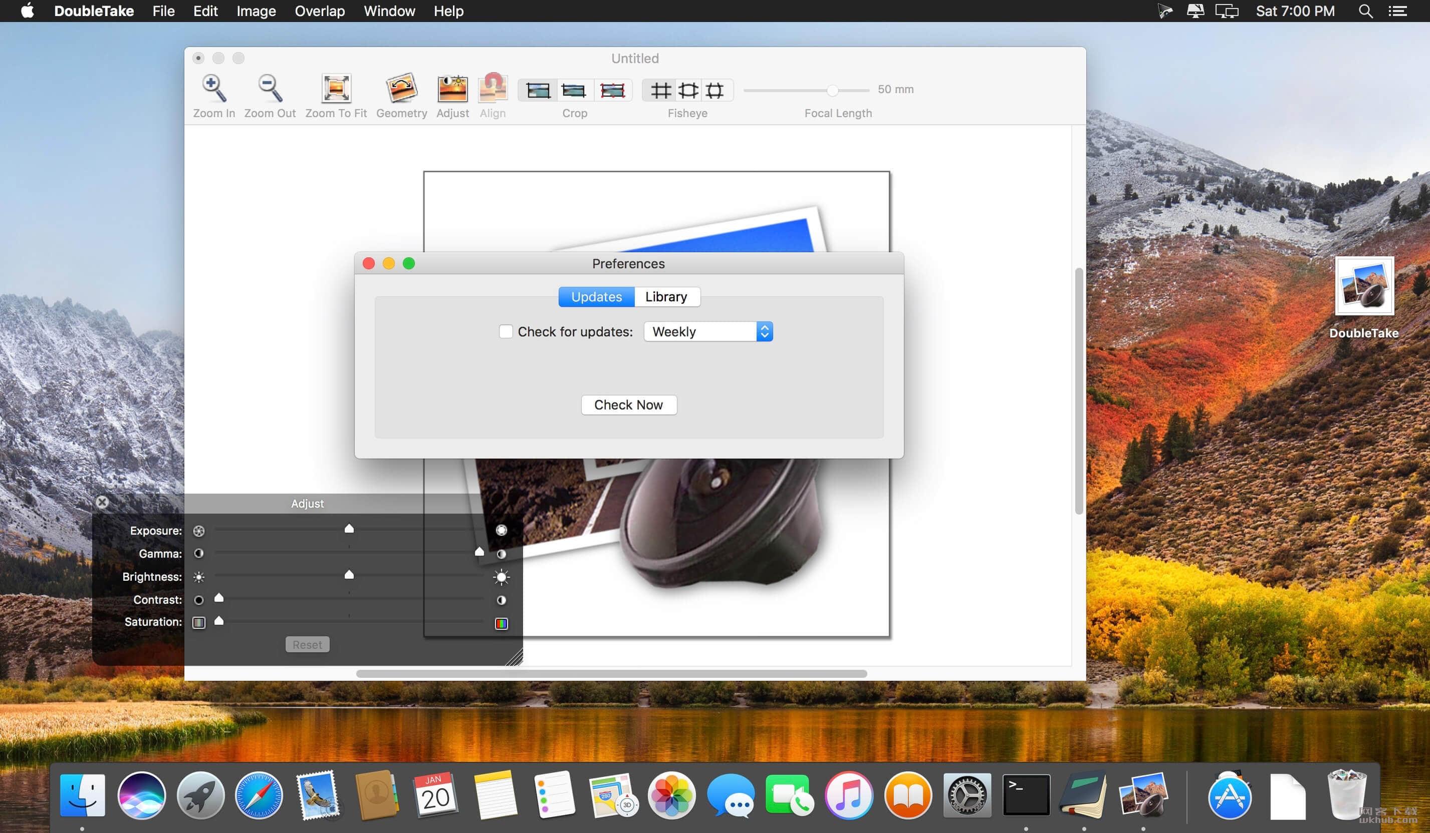 DoubleTake 2.6.2 优秀的全景照片拼接软件