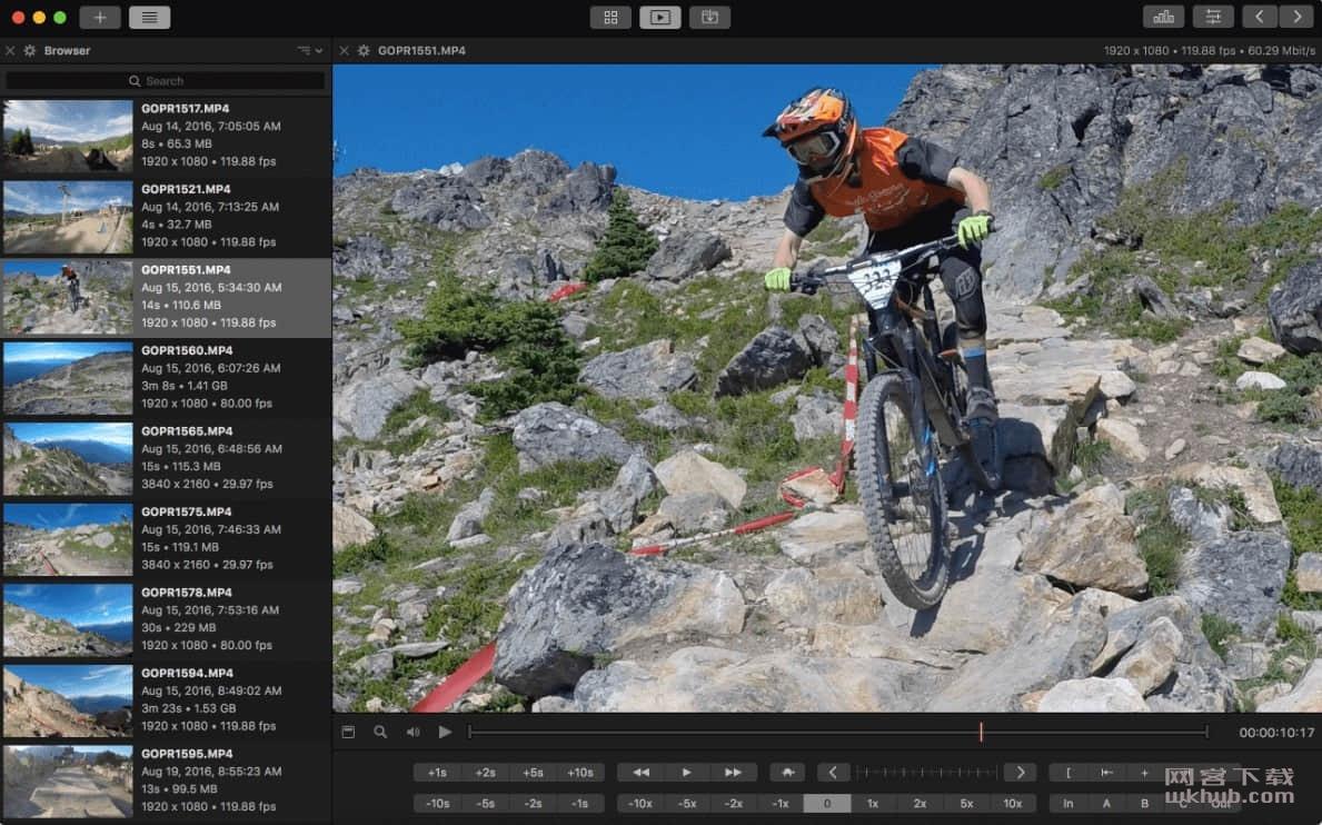 Videoloupe 1.2.1 视频播放及编辑工具