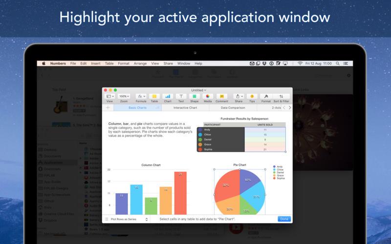 Window Focus 1.0.6 活跃窗口高亮工具