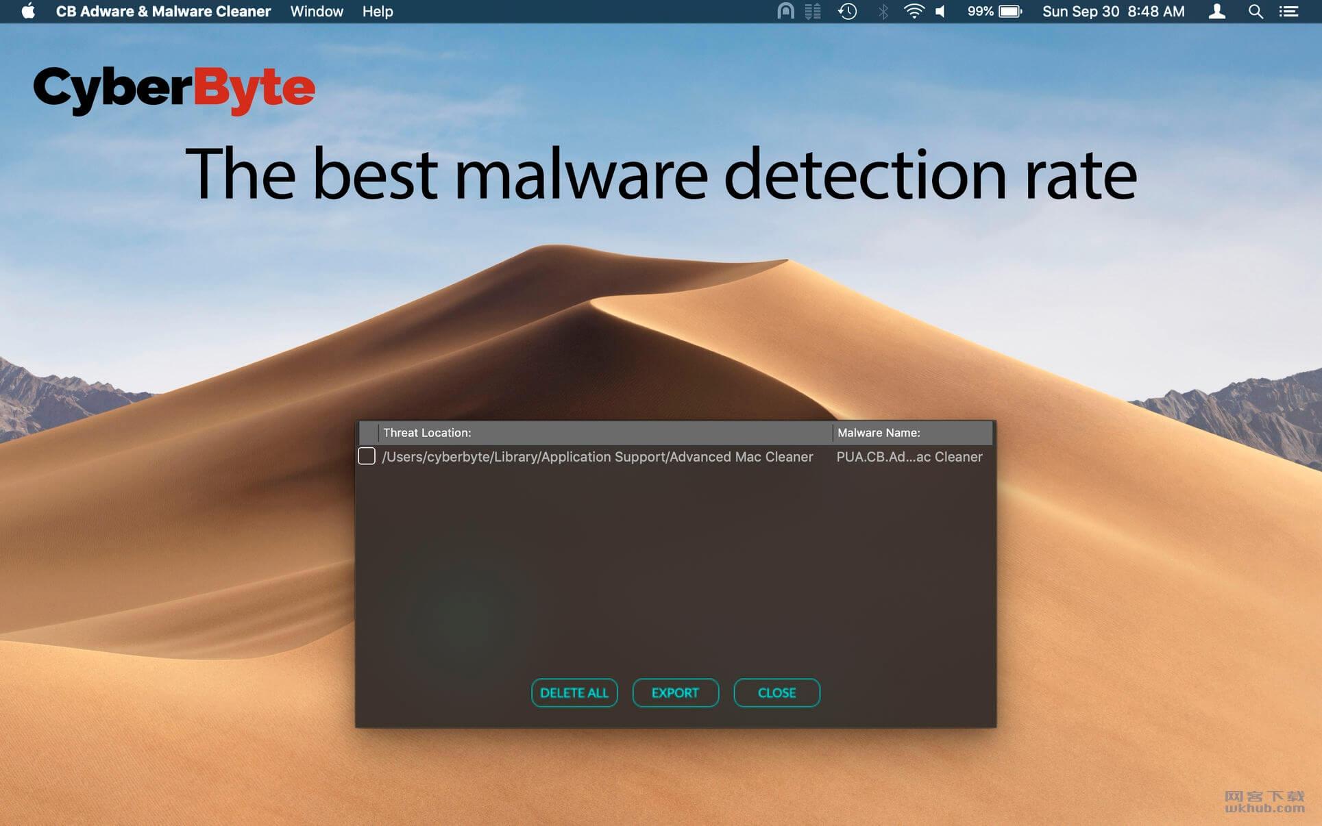 CB Adware & Malware Cleaner 1.0.4 广告软件和恶意软件清除程序