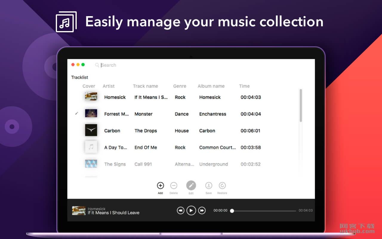 Music Tags Pro 1.0.0 音频标签编辑管理