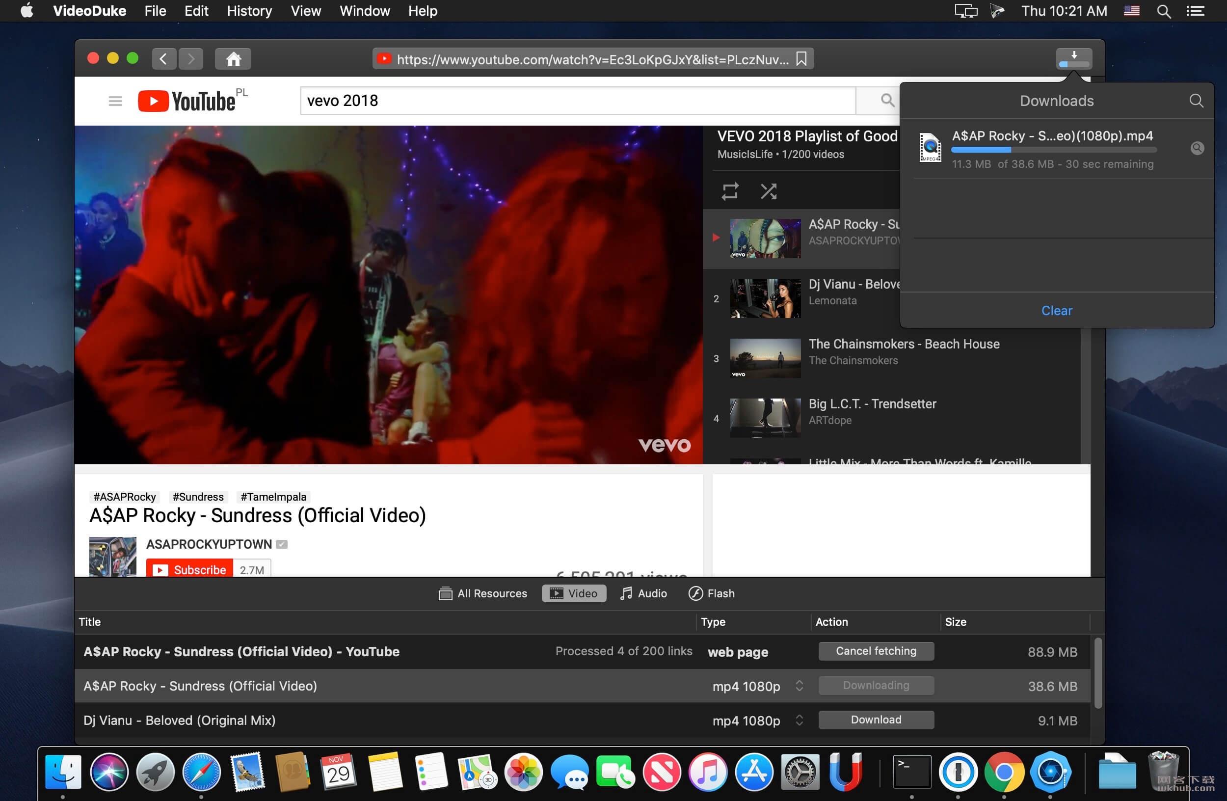 VideoDuke 1.2(228) 流行视频网站视频下载工具