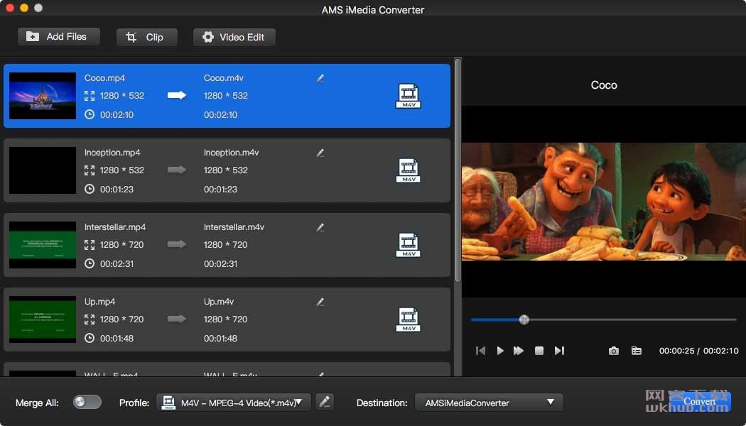 AMS iMedia Converter 2.0.0 媒体转换工具
