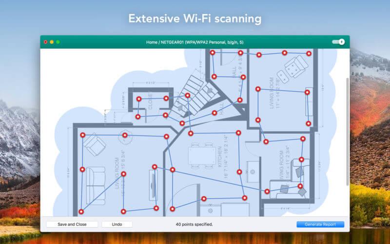 Wifiner 1.3.189 强大的WiFi信号分析工具