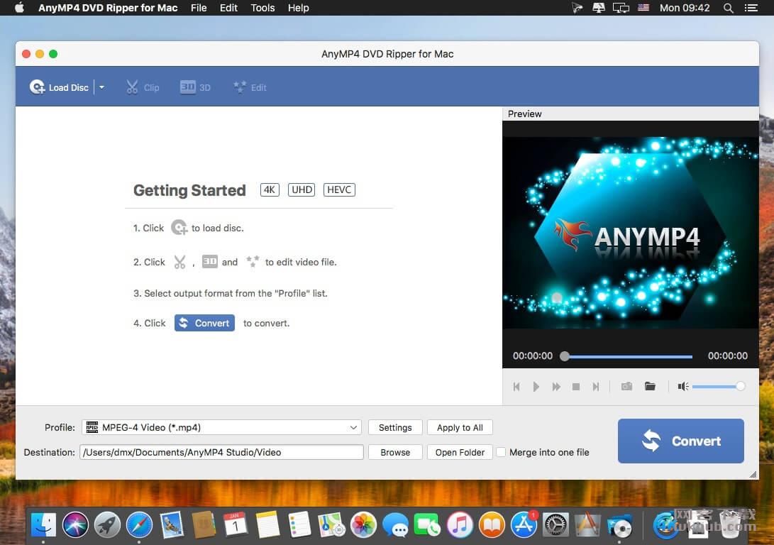 AnyMP4 DVD Ripper 8.2.12.84439 视频转换工具