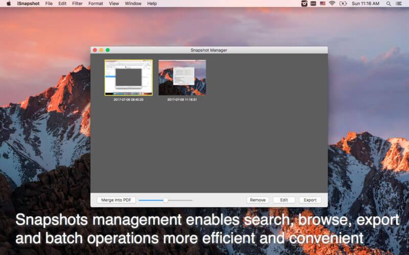 iSnapshot 3.4.0 高效简单的截图工具