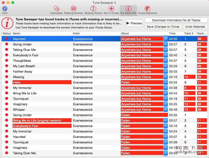 Tune Sweeper 4.19.2 iTunes音乐库清理工具