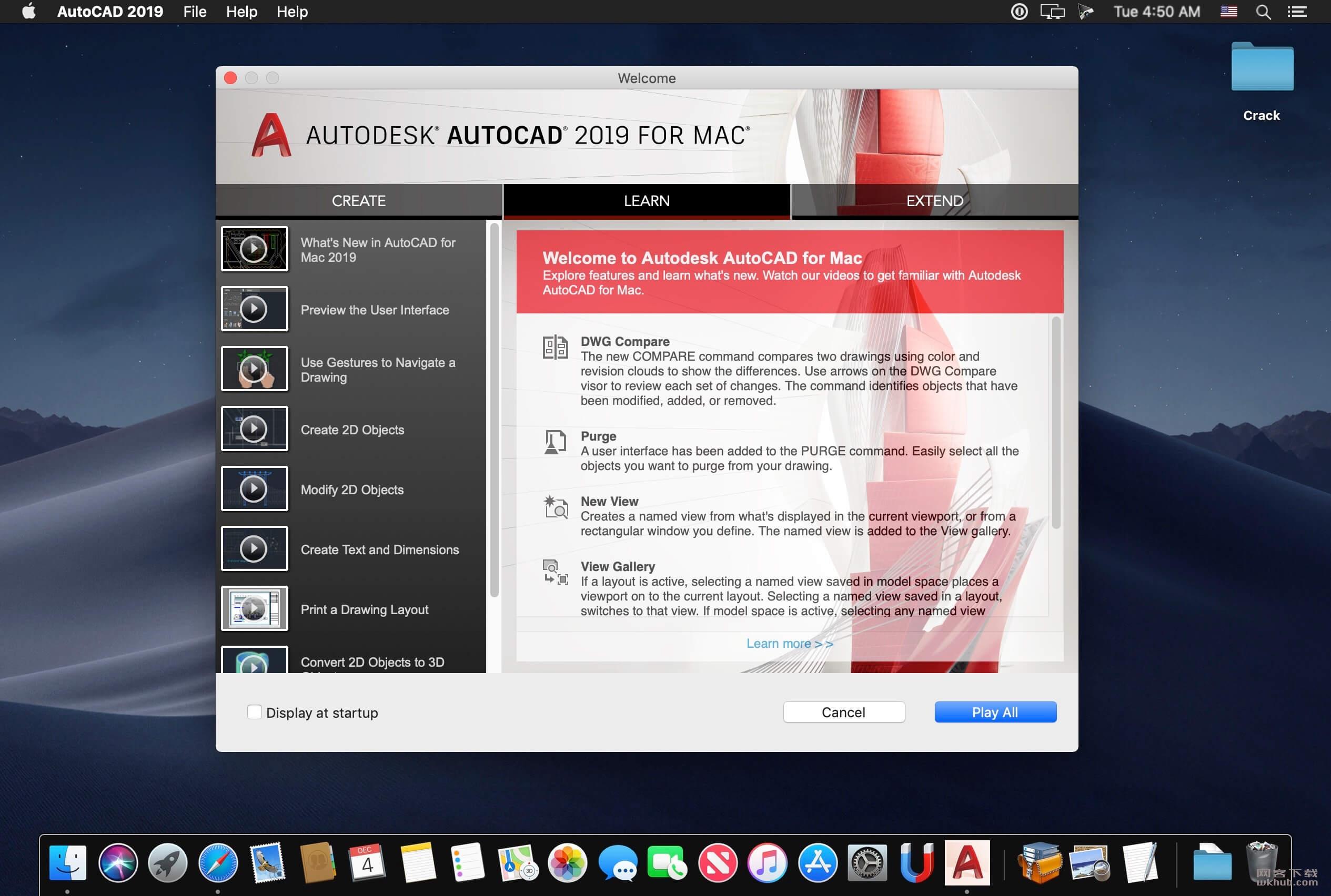 Autodesk AutoCAD 2020 强大的CAD绘图工具