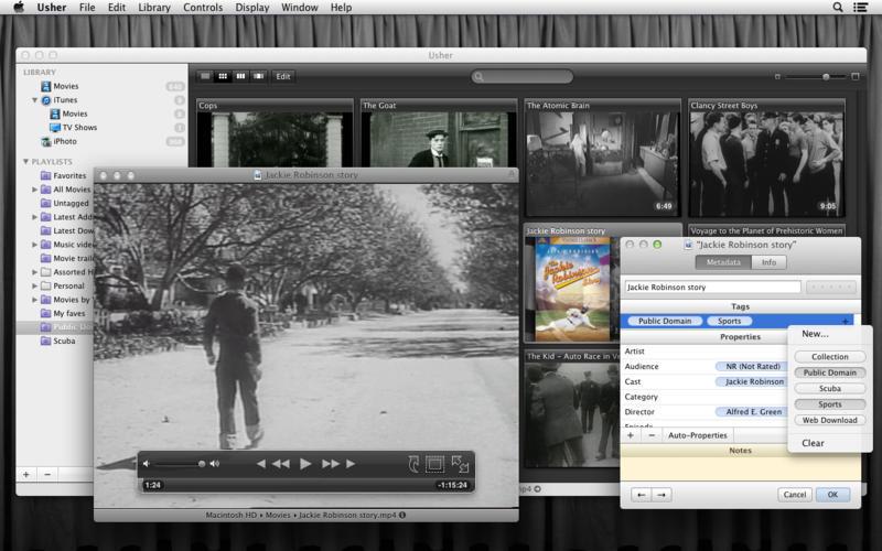 Usher 2.0 Beta 影片管理工具
