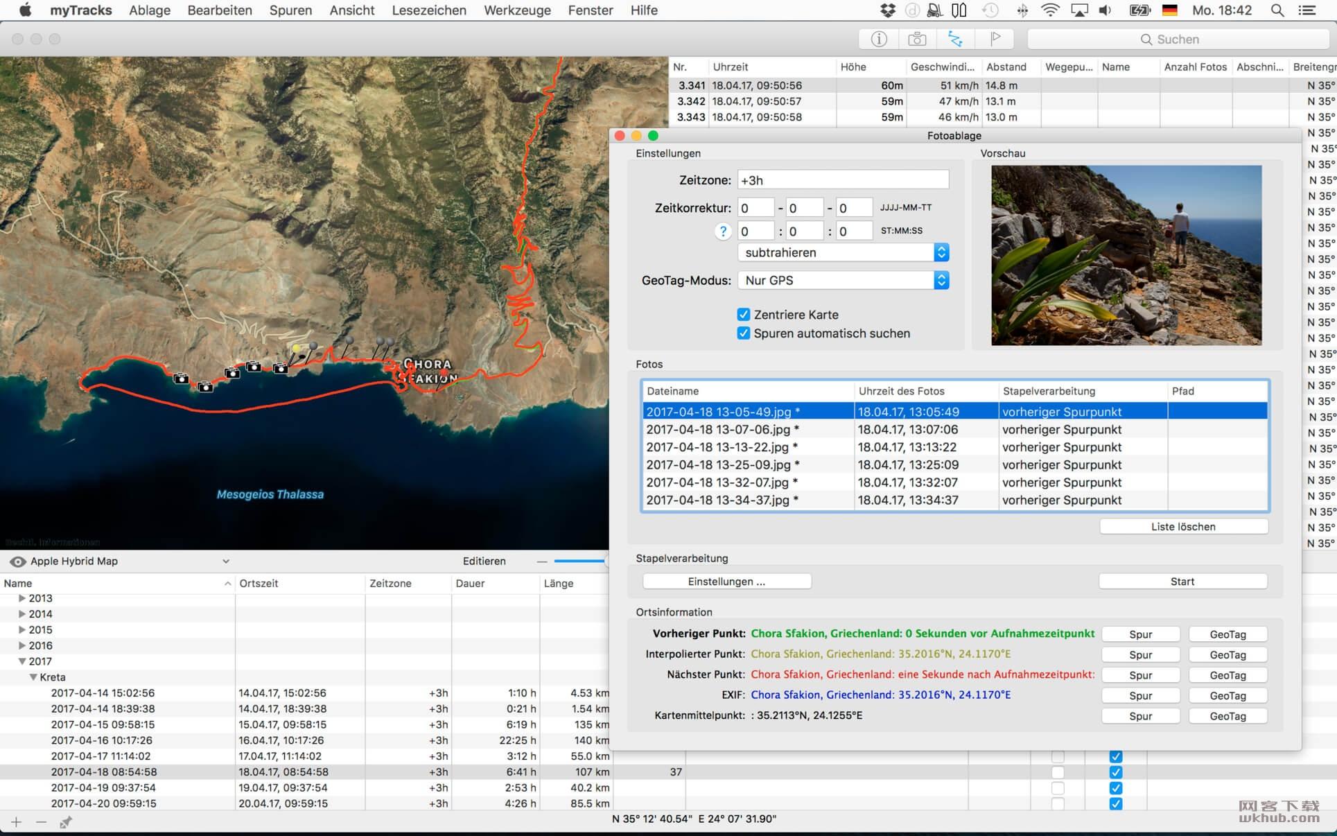 myTracks 3.4.1 GPS轨迹记录器