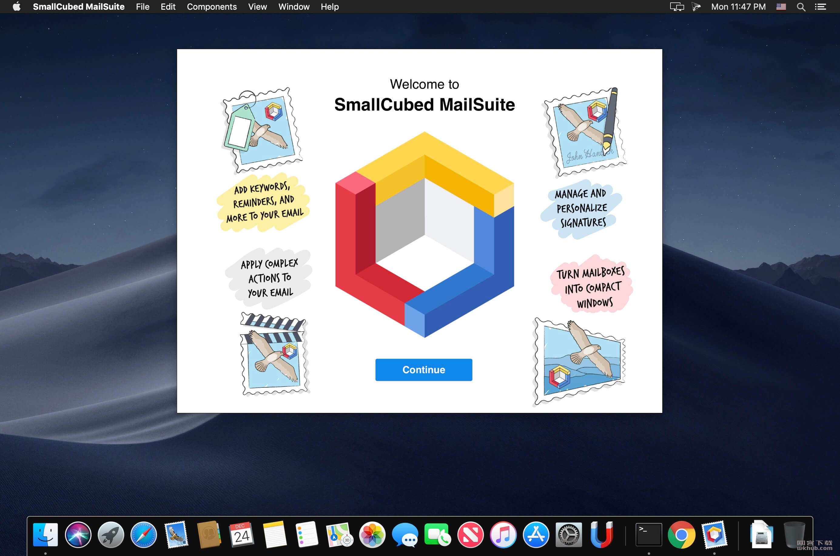 SmallCubed MailSuite 2019.0.1 自带Mail应用扩展程序