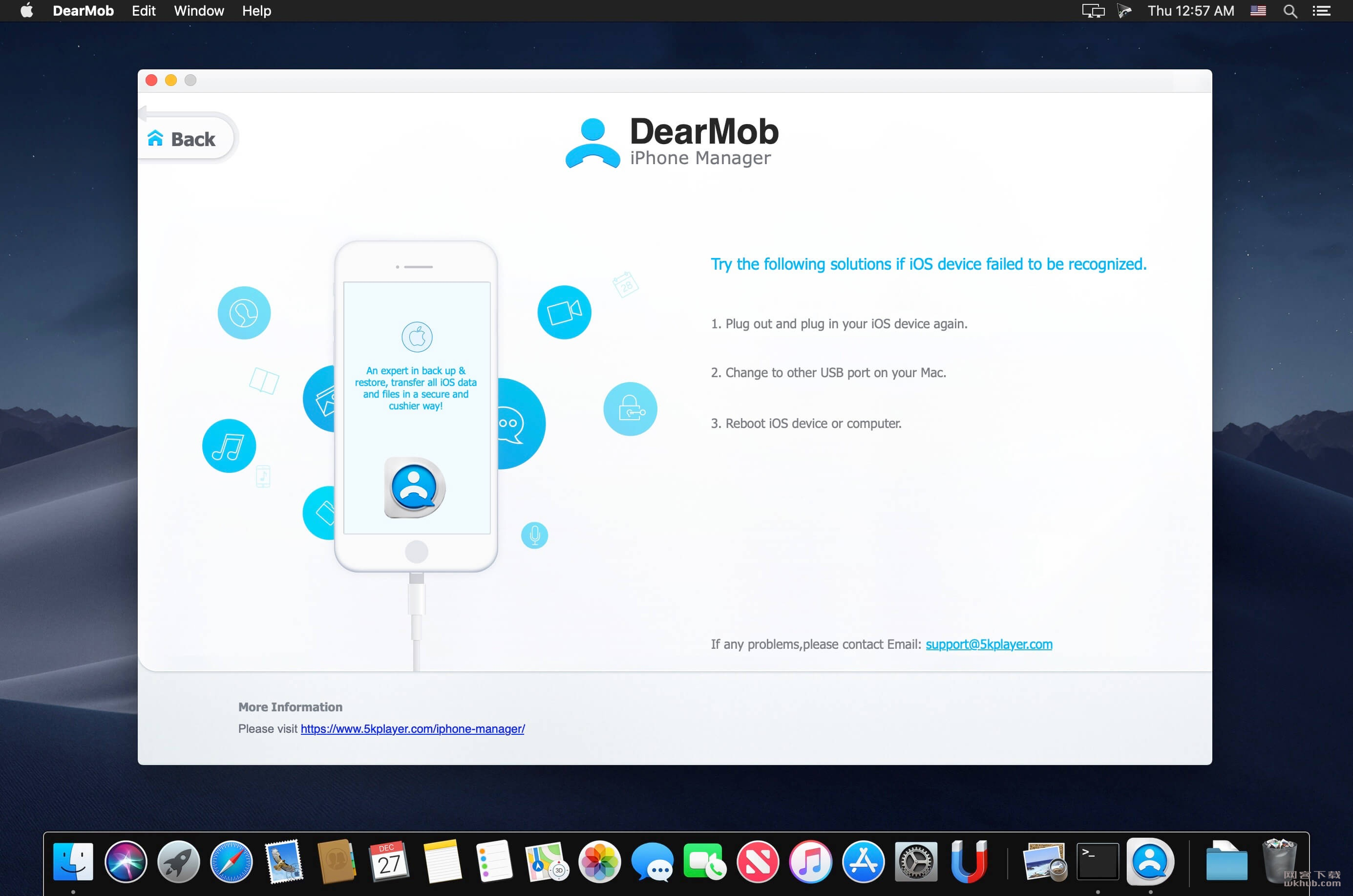 DearMob iPhone Manager 4.2 简易的iOS管理工具