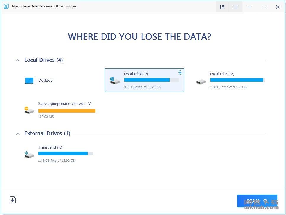 Magoshare Data Recovery 4.0 数据恢复软件