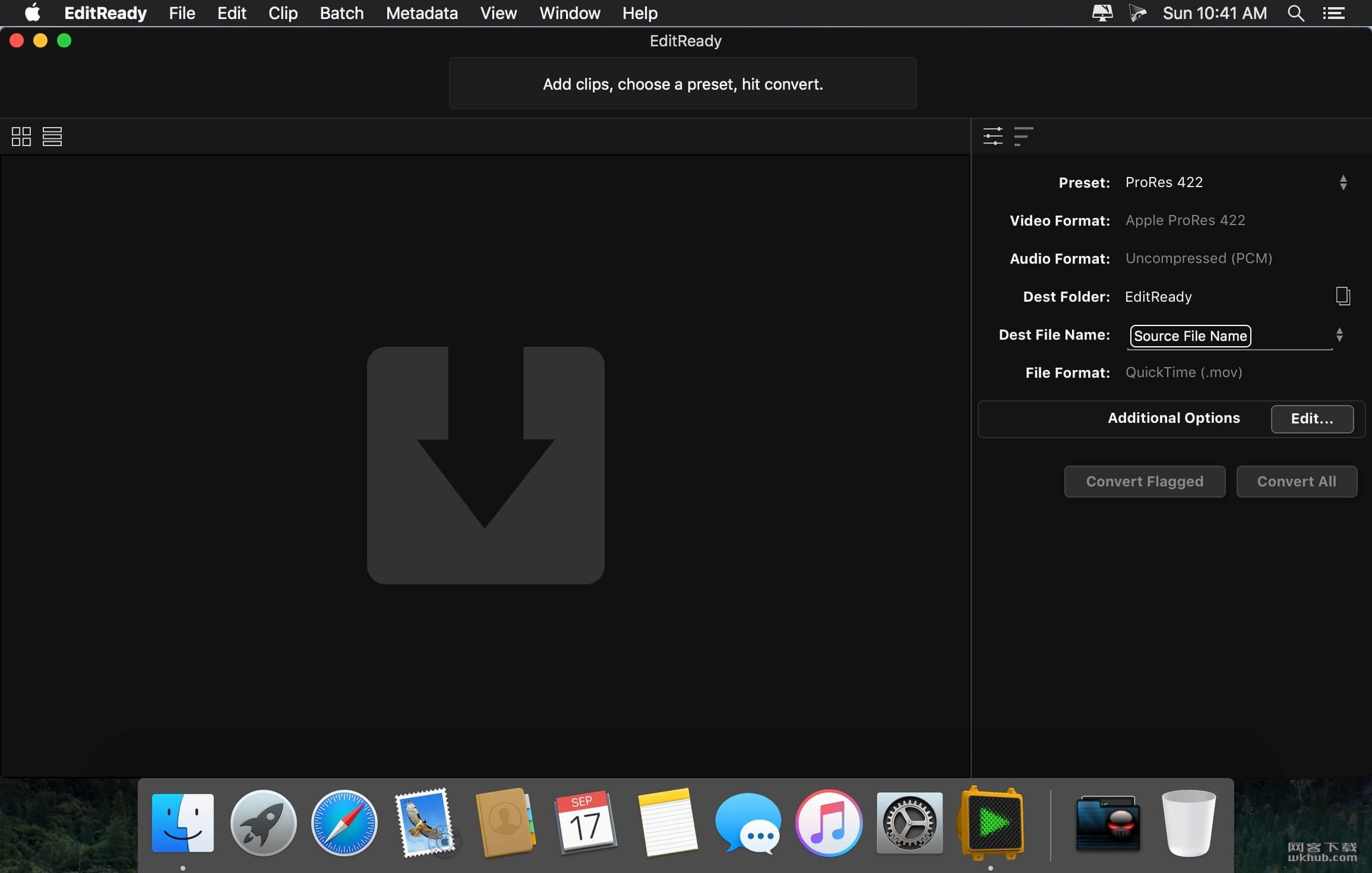 EditReady 2.5.3 强大的视频转码工具