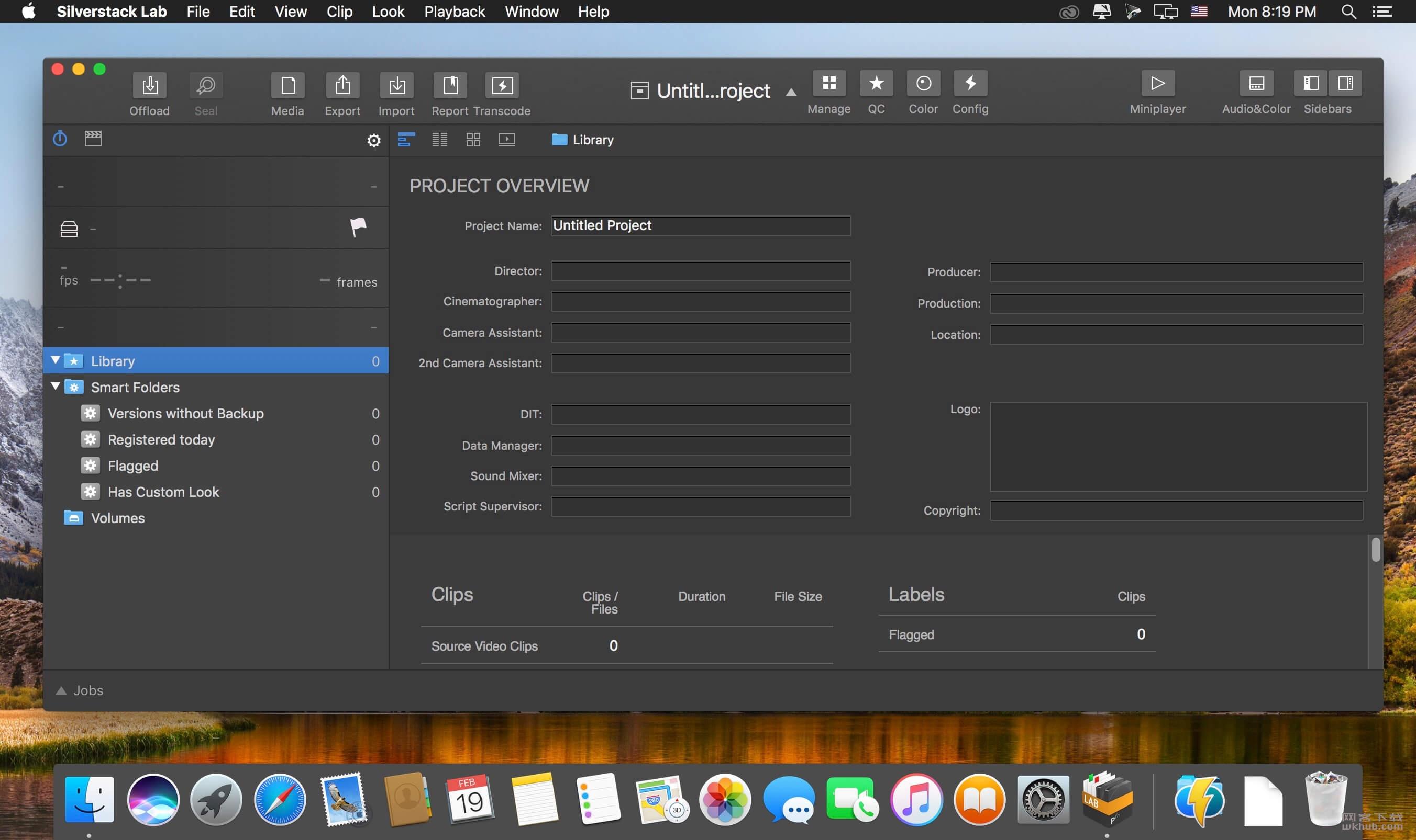 Silverstack Lab 6.4.9 媒体素材管理及转码工具
