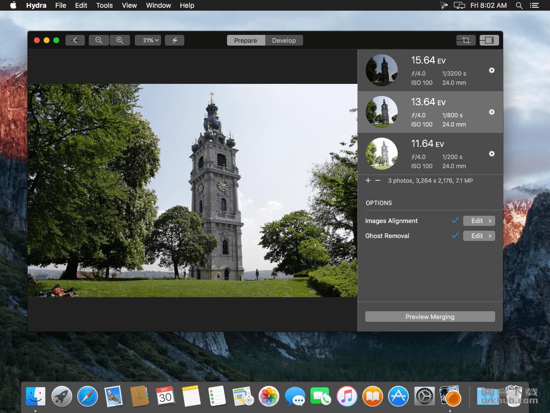 Hydra 4.3 专业HDR照片编辑工具