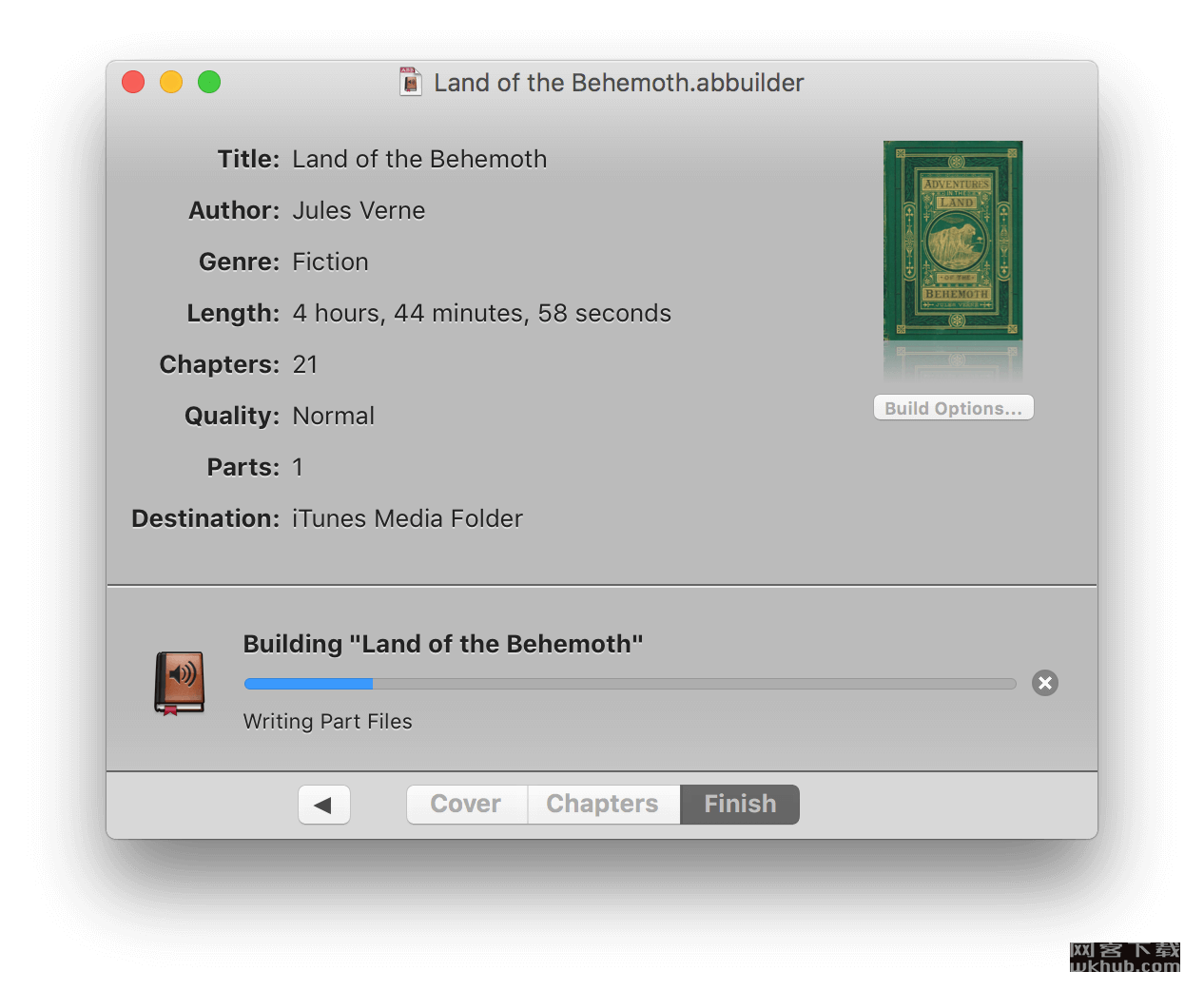 Audiobook Builder 2.0.2 音频转有声读物工具