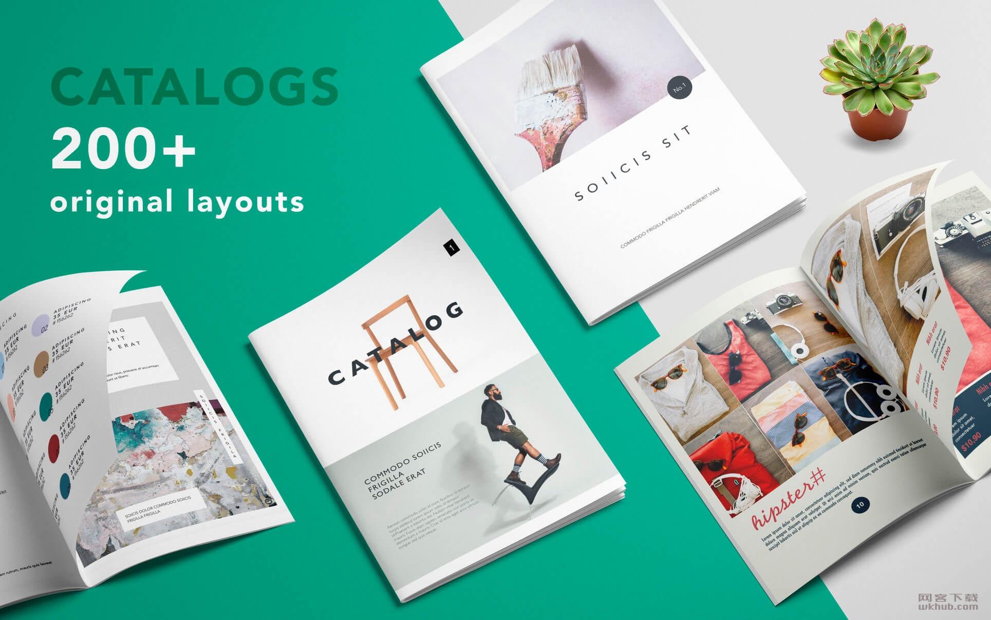 Catalog Templates - DesiGN 2.0.1 Pages模板应用