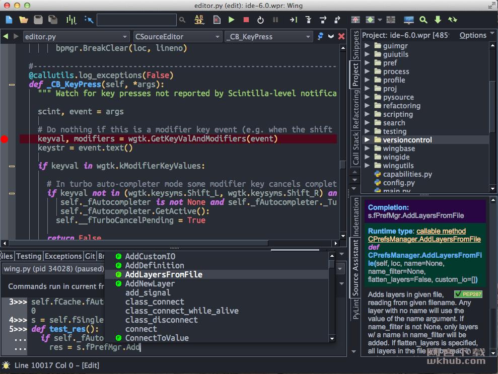 WingIDE Pro 6.1.5.1 Python智能开发环境