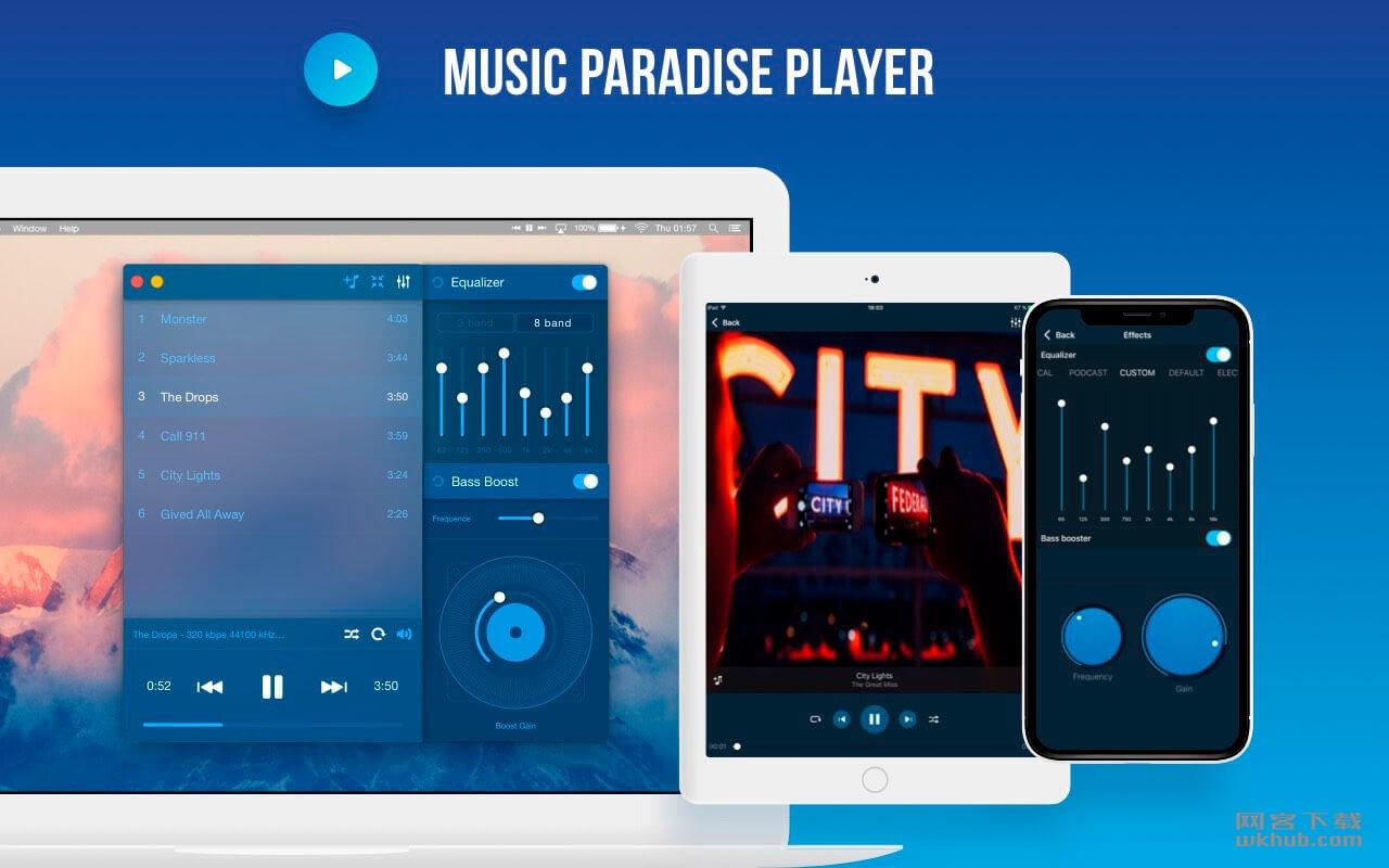 Music Paradise Player 3.0.3 全功能音乐播放器