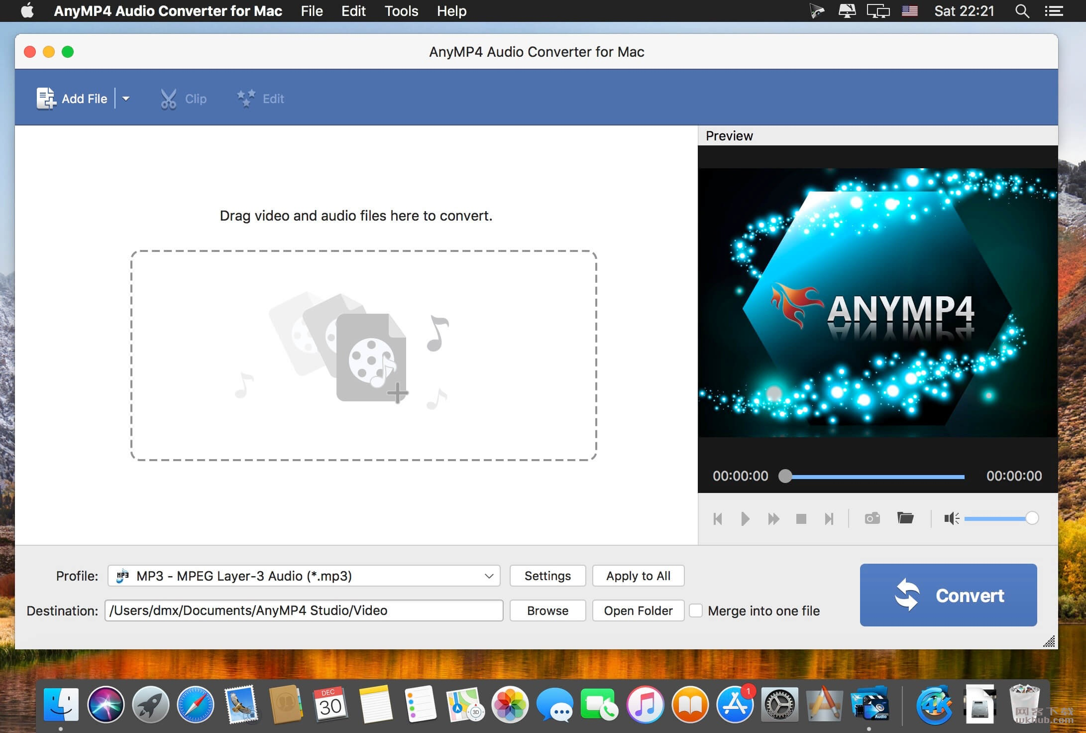 AnyMP4 Audio Converter 8.2.8.84501 强大的音频转换工具