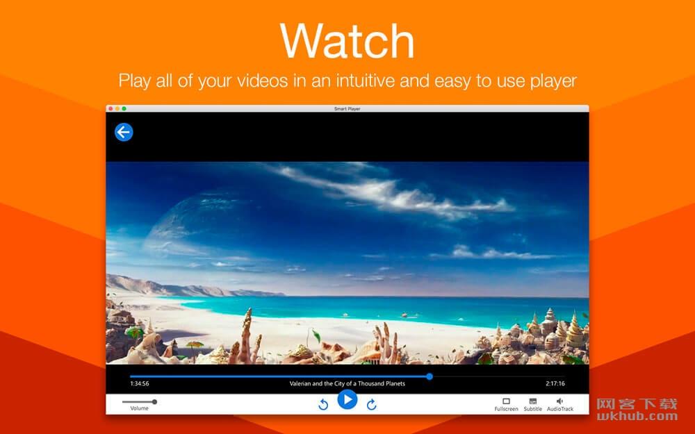 Smart Player 1.0.2 视频播放和管理工具