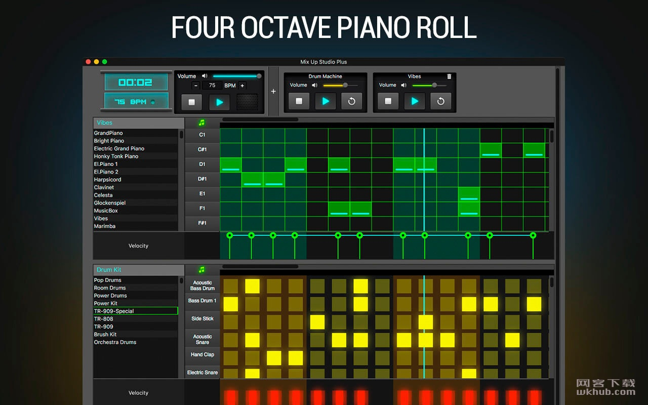 Mix Up Studio 24.1.2 便携式音乐工作室