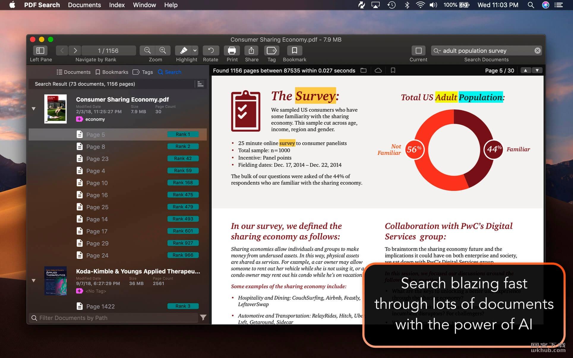 PDF Search 6.6 强大的PDF文档搜索工具