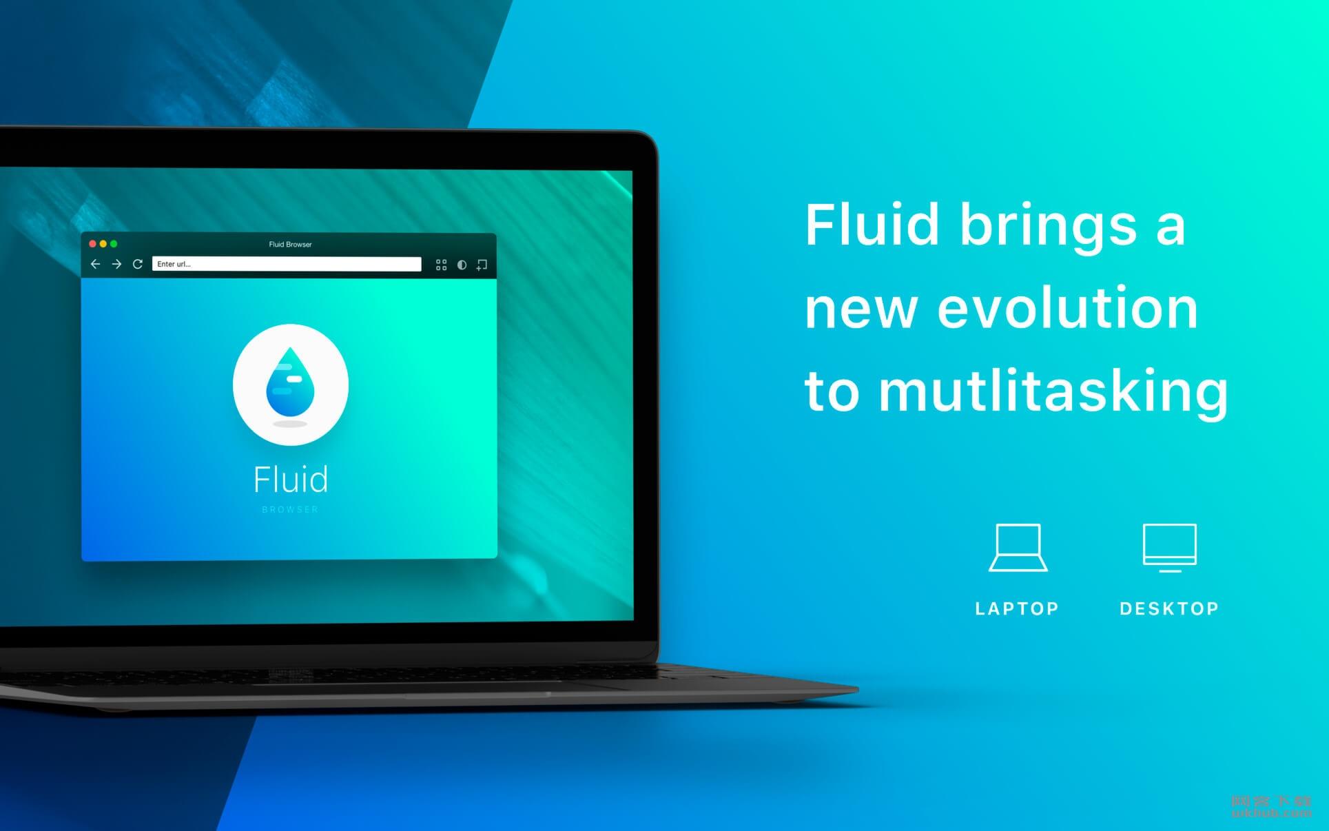 Fluid Browser 1.6 流畅的浮动式浏览器
