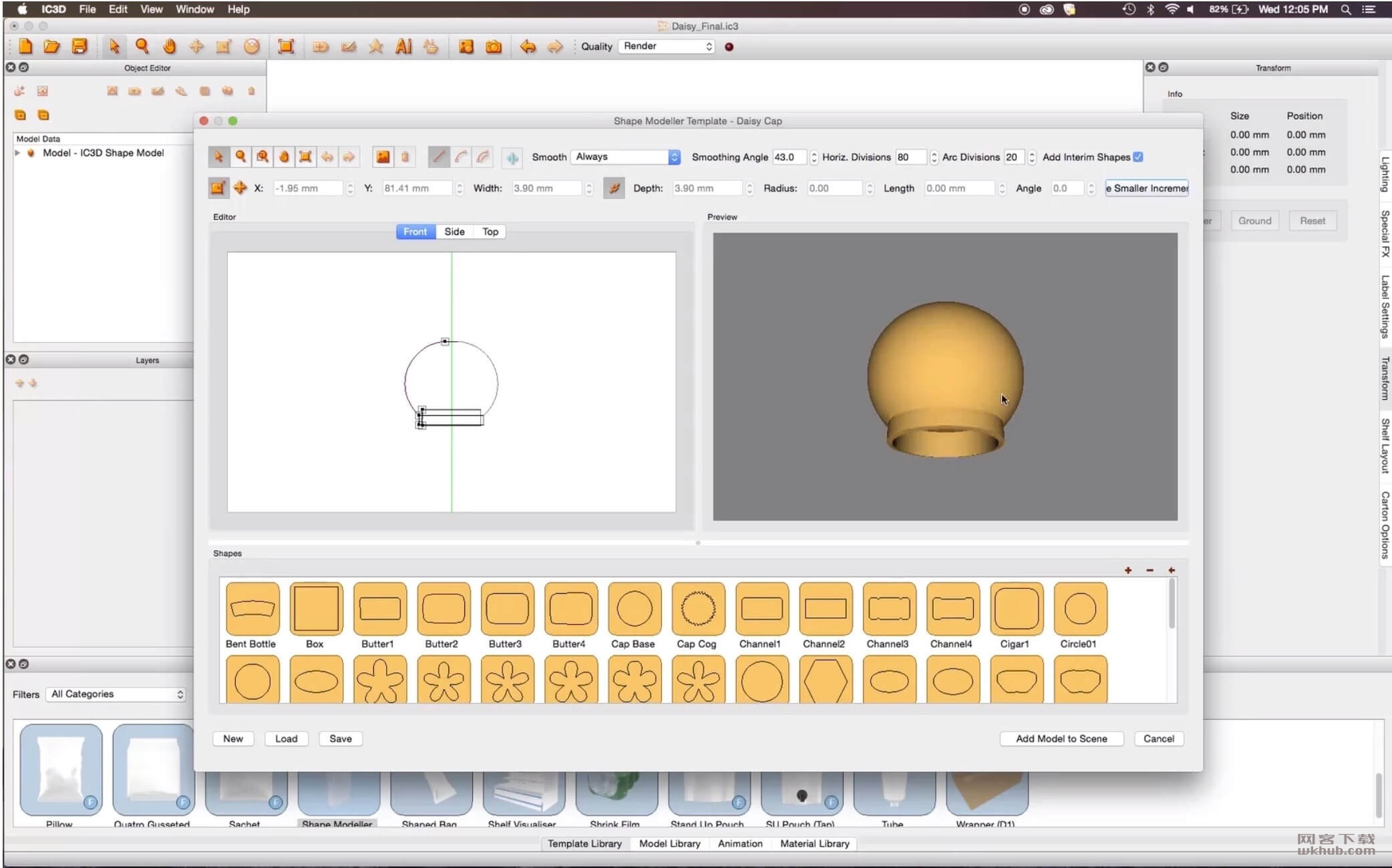 Creative Edge Software iC3D Suite 5.5.6 专业的包装设计工具