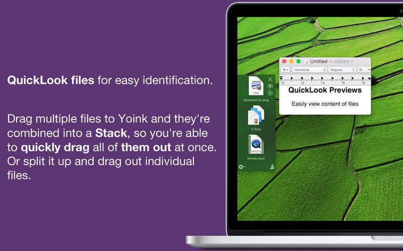 Yoink 3.5.8 拖放式屏幕文件管理工具