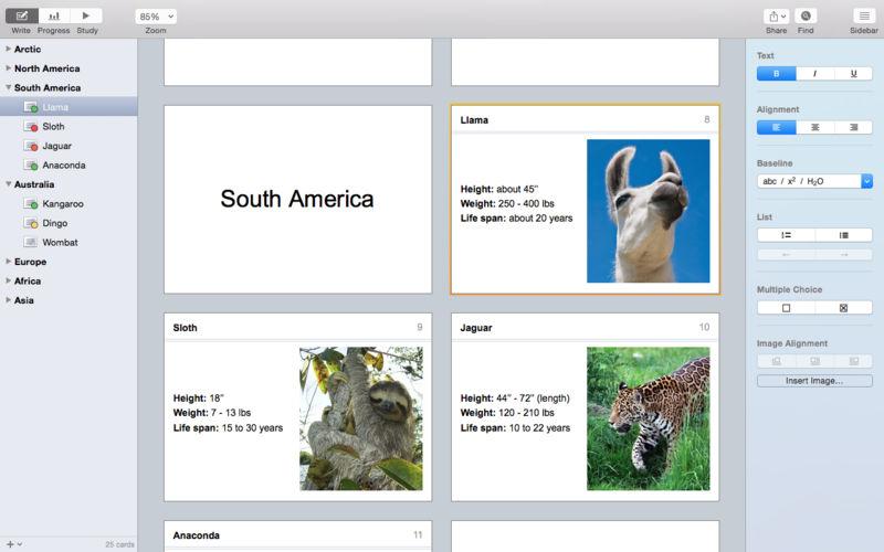 Flashcard Hero 2.9.2 教学抽认卡制作工具
