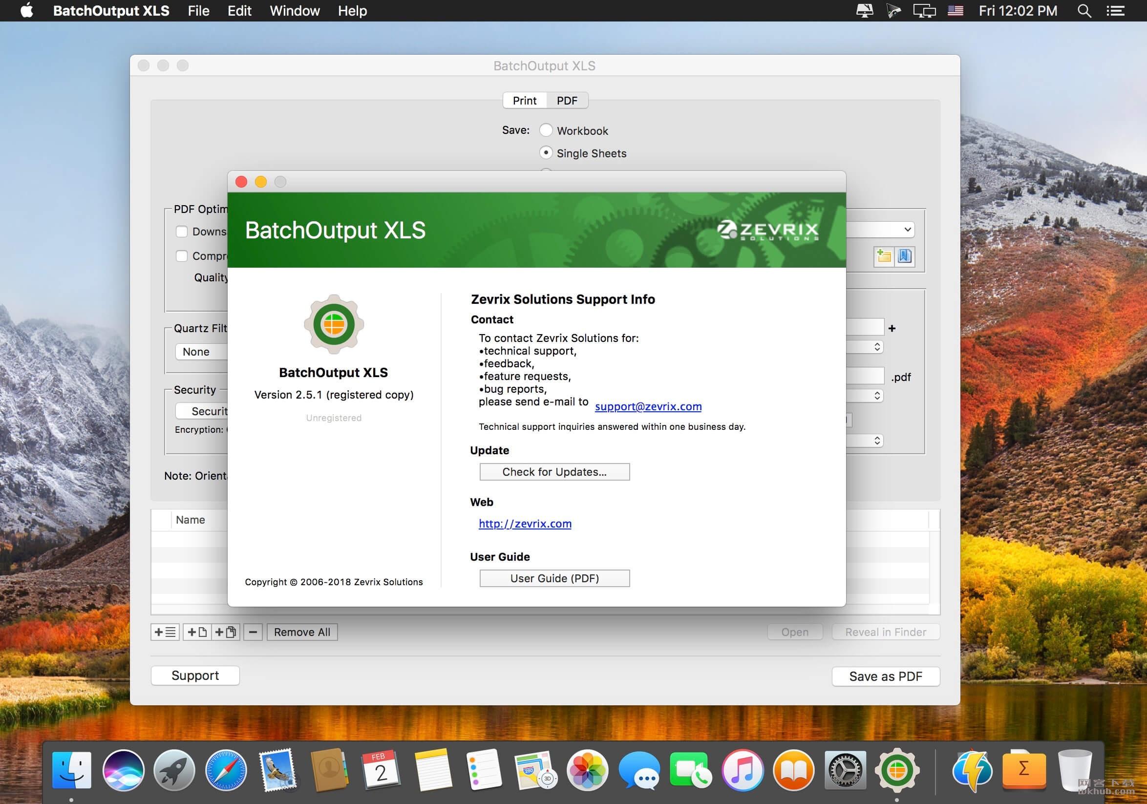 BatchOutput XLS 2.5.6 自动从Excel生成PDF