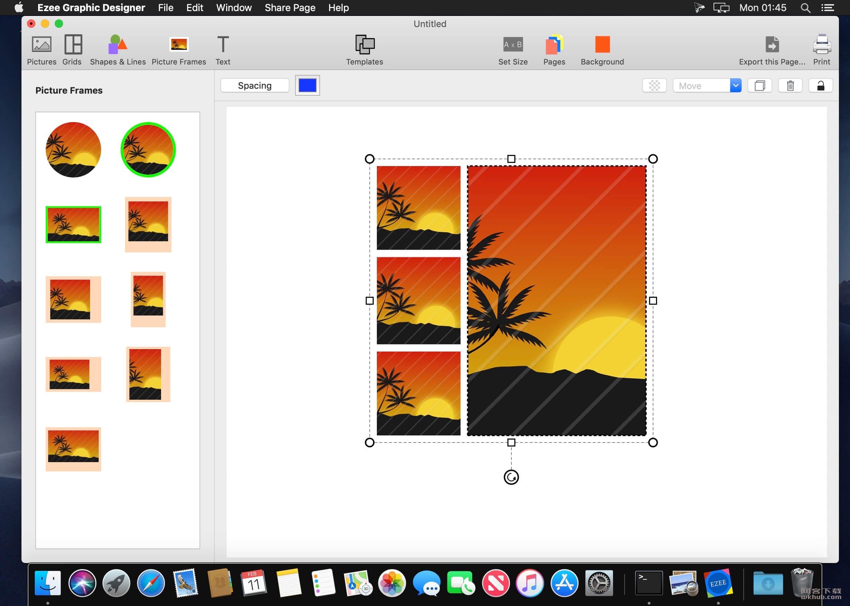 Ezee Graphic Designer 2.0.26 平面设计工具