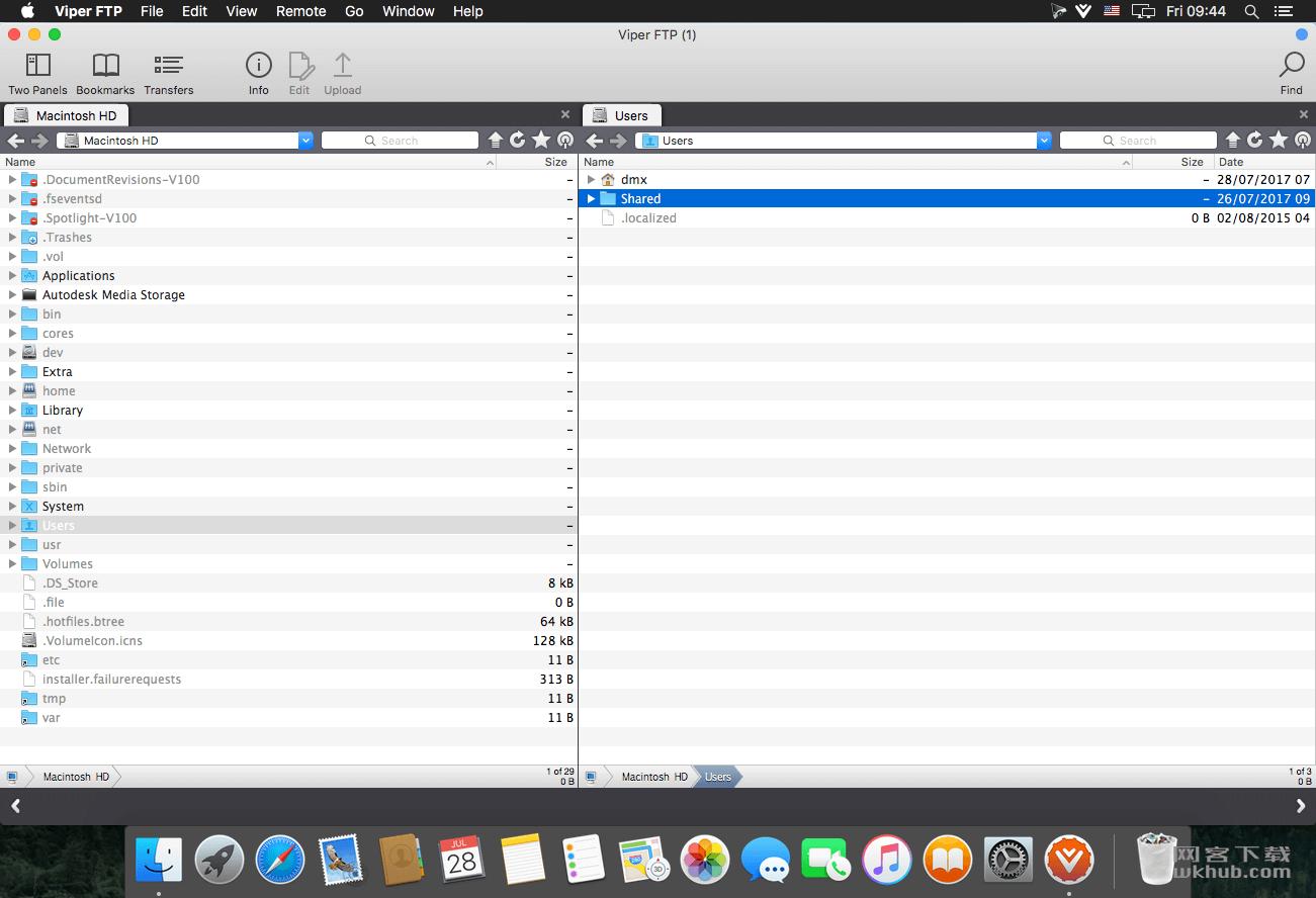 Viper FTP 5.2.6 便捷强大的FTP工具