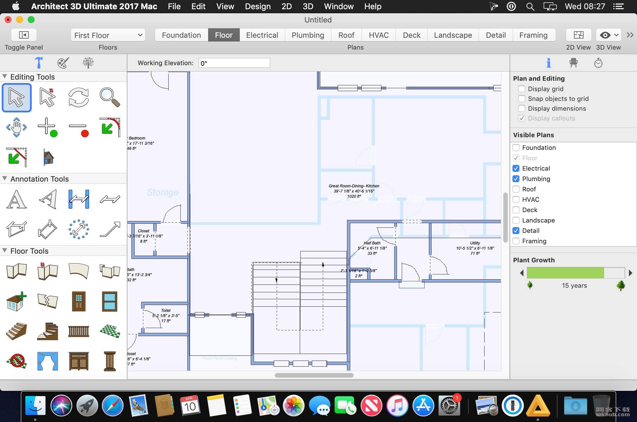 Architect 3D Ultimate 2017 19.0.8 3D家居设计应用程序