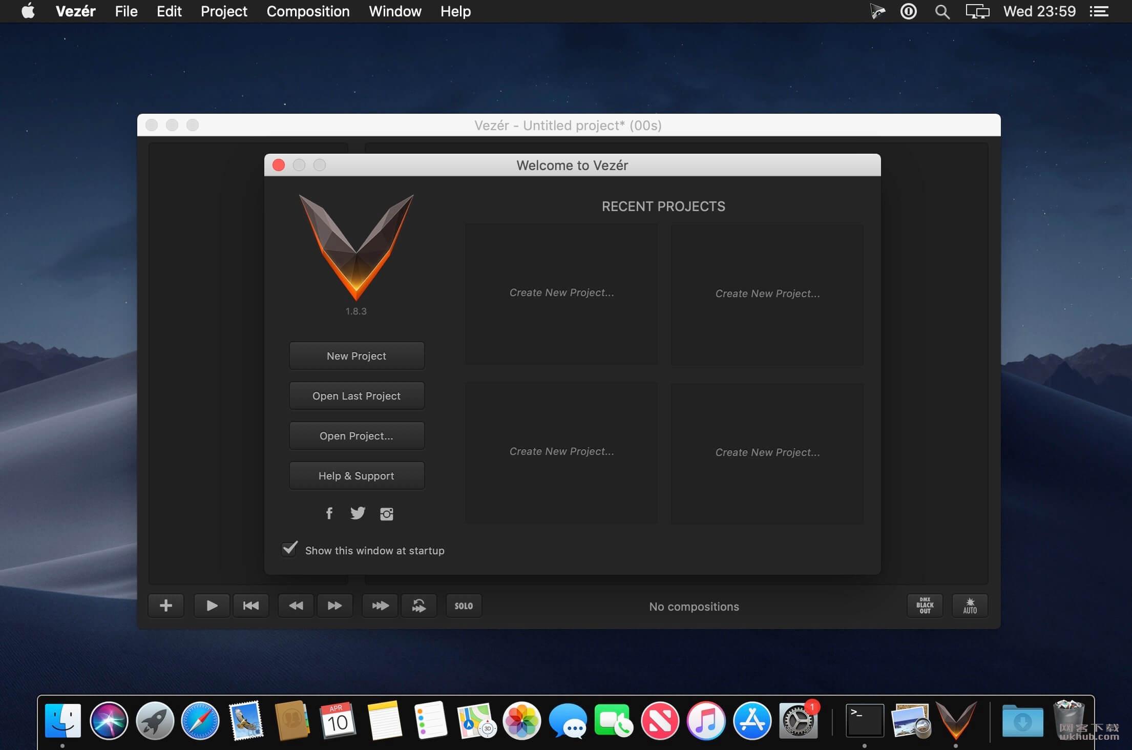 Vezér 1.8.3 基于时间轴的MIDI/OSC/DMX音序器
