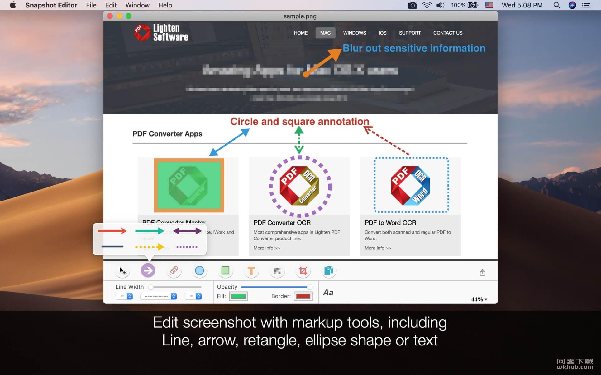 Screenshot Editor 2.3.2 屏幕捕捉修改工具