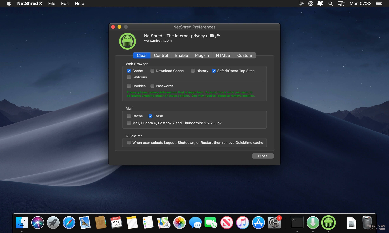NetShred X 5.3.2 网络缓存清除工具