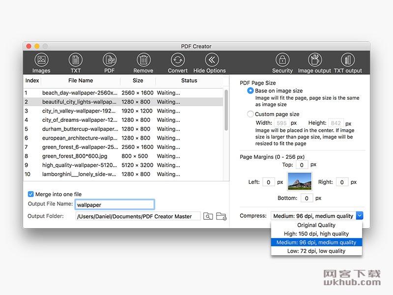 Lighten PDF Creator 3.0.0 小巧的PDF创建工具