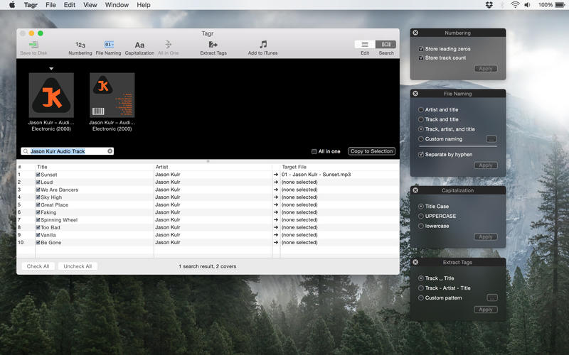 Tagr 5.1.0 音频元数据编辑器