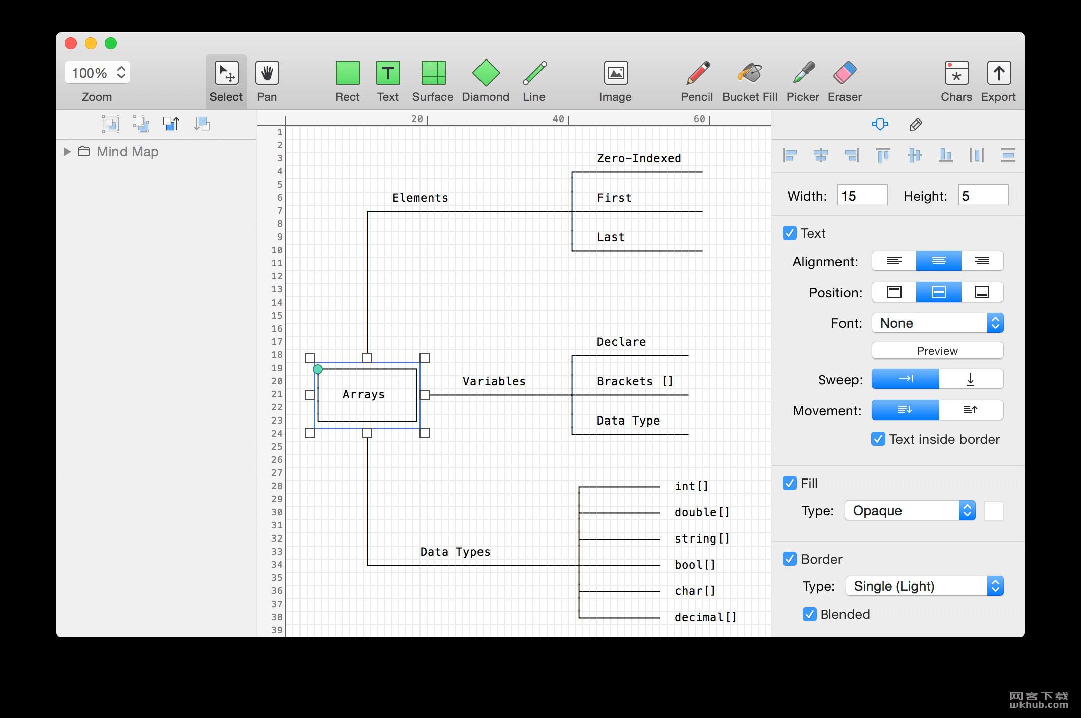 Monodraw 1.4 文本图标创建工具