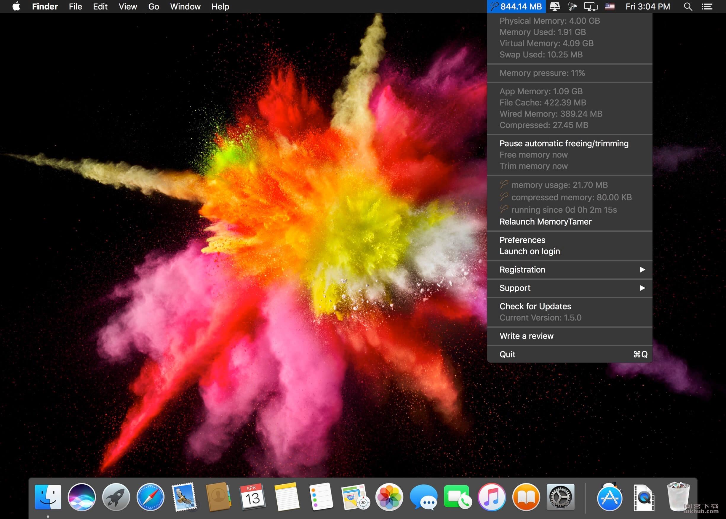 MemoryTamer 1.5.2 内存释放工具