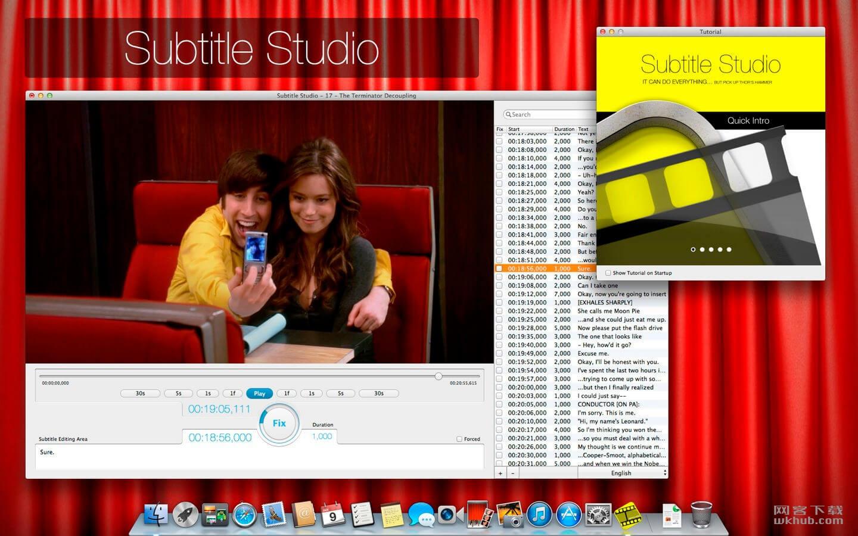 Subtitle Studio 1.5 优秀的视频字幕编辑工具